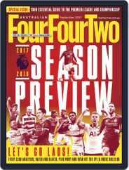 Australian FourFourTwo (Digital) Subscription September 1st, 2017 Issue