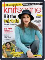 Knitscene (Digital) Subscription January 3rd, 2018 Issue
