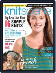 Knitscene (Digital) Subscription March 1st, 2017 Issue