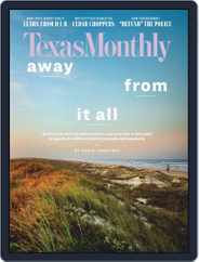 Texas Monthly (Digital) Subscription August 1st, 2020 Issue