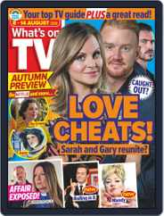 What's on TV (Digital) Subscription August 8th, 2020 Issue
