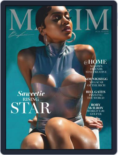 Maxim Magazine (Digital) June 22nd, 2020 Issue Cover