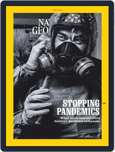 National Geographic Magazine (Digital) August 1st, 2020 Issue Cover