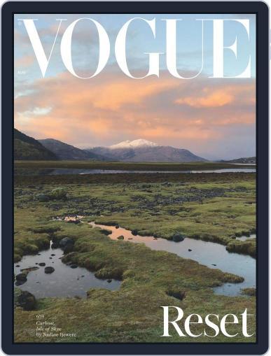 British Vogue Magazine (Digital) August 1st, 2020 Issue Cover