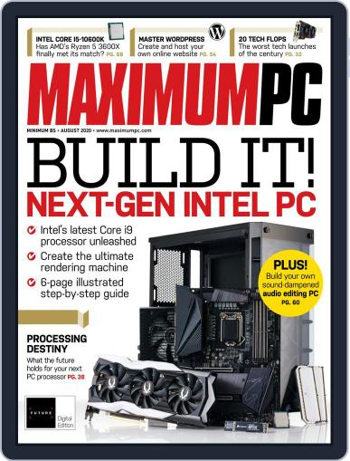 Maximum PC Magazine (Digital) August 1st, 2020 Issue Cover