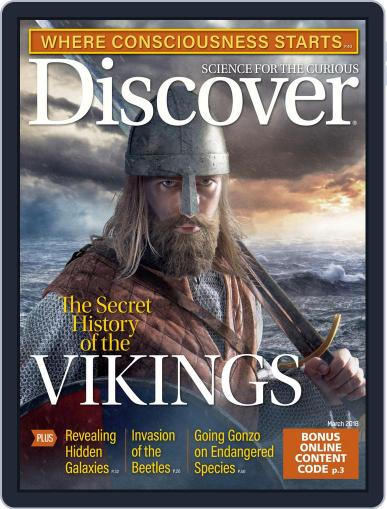 Discover Magazine (Digital) Cover