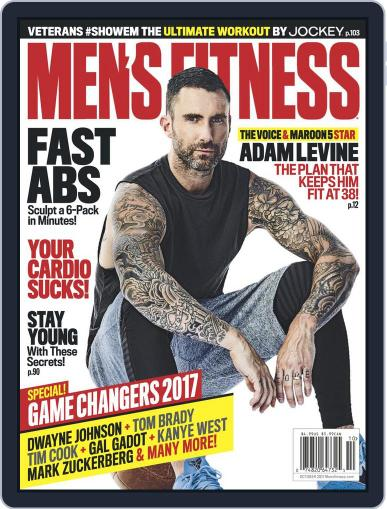 Men's Fitness (Digital) October 1st, 2017 Issue Cover