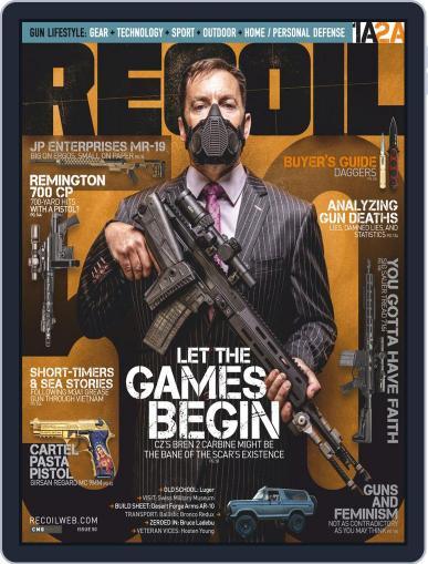 Recoil Magazine (Digital) September 1st, 2020 Issue Cover