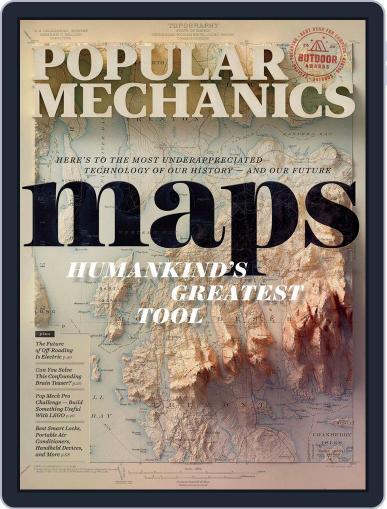 Popular Mechanics Magazine (Digital) July 1st, 2020 Issue Cover