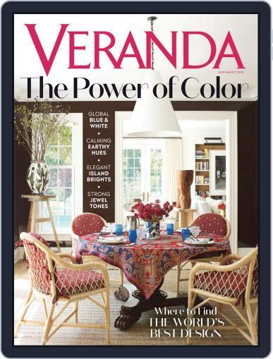 Veranda Magazine (Digital) July 1st, 2020 Issue Cover