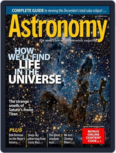 Astronomy Magazine (Digital) September 1st, 2020 Issue Cover