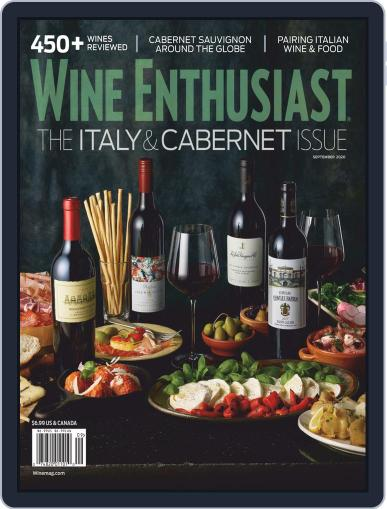 Wine Enthusiast Magazine (Digital) September 1st, 2020 Issue Cover