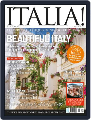 Italia Magazine (Digital) May 1st, 2020 Issue Cover
