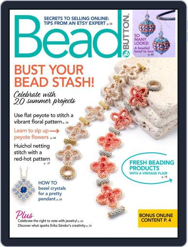 Bead&Button Magazine (Digital) August 1st, 2020 Issue Cover