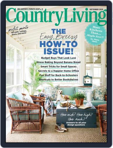 Country Living Magazine (Digital) September 1st, 2020 Issue Cover