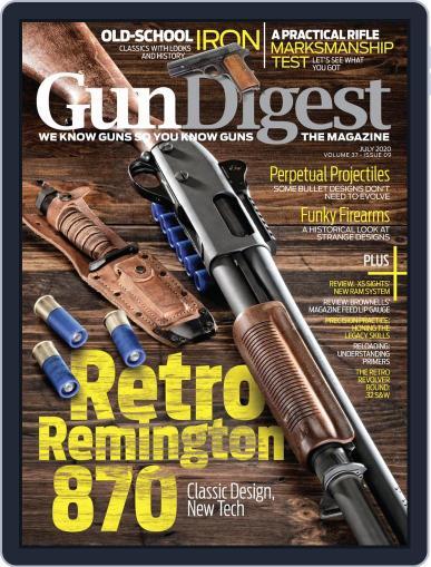 Gun Digest Magazine (Digital) July 1st, 2020 Issue Cover