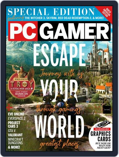 PC Gamer (US Edition) Magazine (Digital) September 1st, 2020 Issue Cover