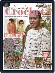 Simply Crochet Magazine (Digital) Subscription September 23rd, 2020 Issue