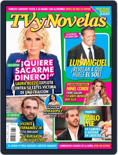 TV y Novelas México Magazine (Digital) August 10th, 2020 Issue Cover