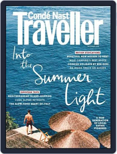 Conde Nast Traveller UK Magazine (Digital) September 1st, 2020 Issue Cover
