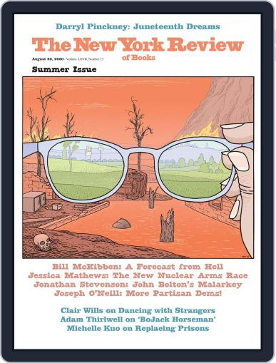 The New York Review of Books Magazine (Digital) August 20th, 2020 Issue Cover