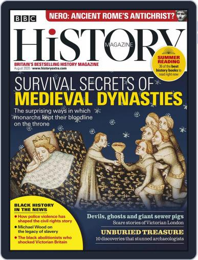 Bbc History Magazine (Digital) August 1st, 2020 Issue Cover
