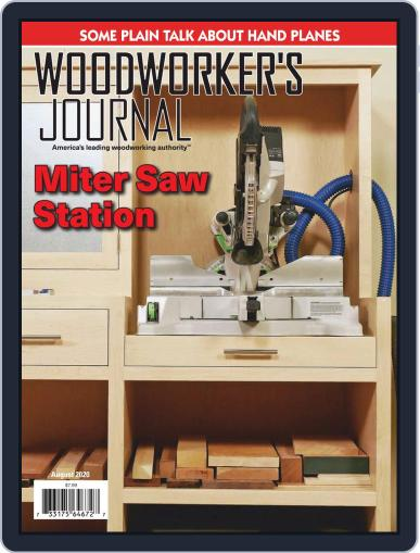 Woodworker's Journal Magazine (Digital) August 1st, 2020 Issue Cover