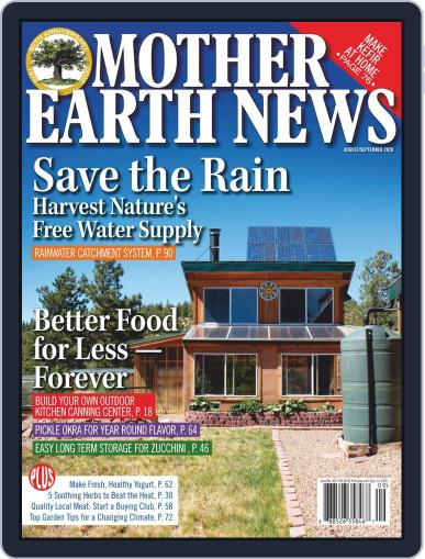MOTHER EARTH NEWS Magazine (Digital) August 1st, 2020 Issue Cover