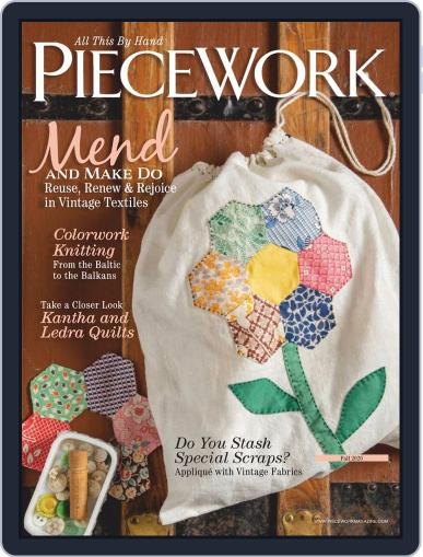 PieceWork Magazine (Digital) July 1st, 2020 Issue Cover