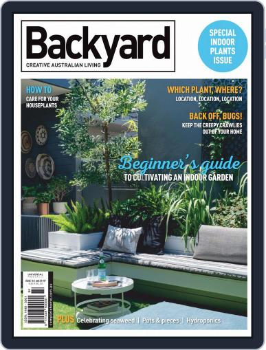 Backyard and Outdoor Living Magazine (Digital) May 1st, 2020 Issue Cover