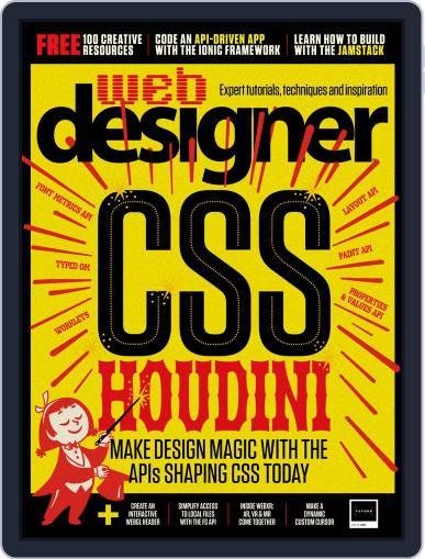 Web Designer (Digital) November 1st, 2019 Issue Cover