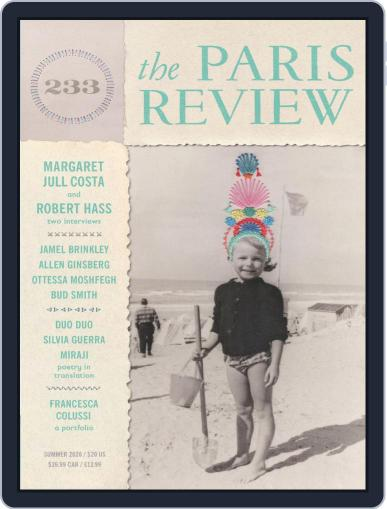 The Paris Review Magazine (Digital) May 8th, 2020 Issue Cover