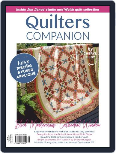 Quilters Companion Magazine (Digital) July 1st, 2020 Issue Cover