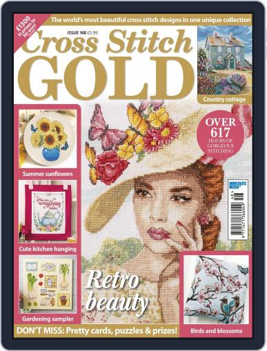 Cross Stitch Gold (Digital) June 1st, 2018 Issue Cover