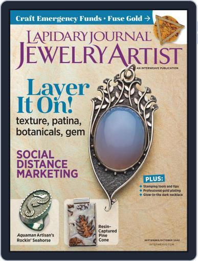Lapidary Journal Jewelry Artist Magazine (Digital) September 1st, 2020 Issue Cover