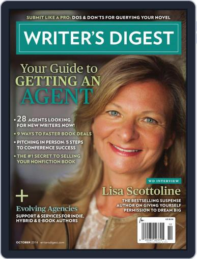 Writer's Digest Magazine (Digital) August 26th, 2014 Issue Cover