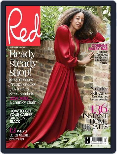 Red UK Magazine (Digital) September 1st, 2020 Issue Cover