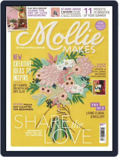 Mollie Makes Magazine (Digital) September 1st, 2020 Issue Cover