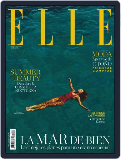 Elle España Magazine (Digital) August 1st, 2020 Issue Cover