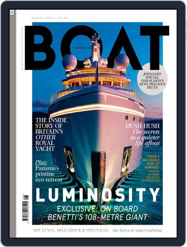 Boat International Magazine (Digital) August 1st, 2020 Issue Cover