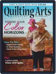 Quilting Arts Magazine (Digital) Subscription August 1st, 2020 Issue