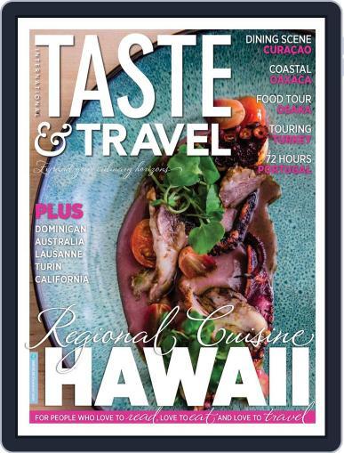 Taste and Travel International Magazine (Digital) July 1st, 2020 Issue Cover