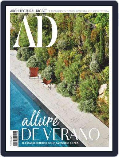 Architectural Digest Mexico Magazine (Digital) August 1st, 2020 Issue Cover