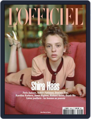 L'officiel Paris Magazine (Digital) July 1st, 2020 Issue Cover