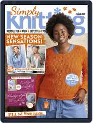 Simply Knitting Magazine (Digital) Subscription October 1st, 2020 Issue