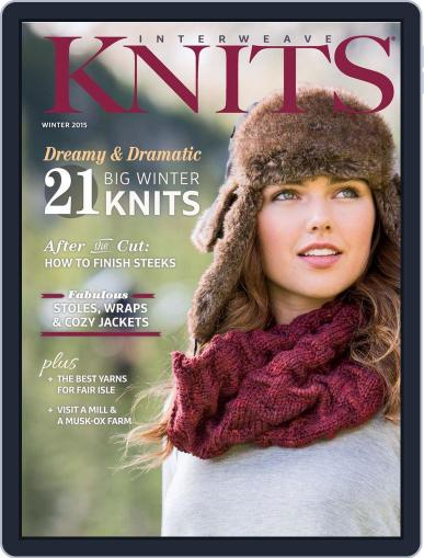 Interweave Knits Magazine (Digital) October 1st, 2014 Issue Cover