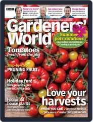 BBC Gardeners' World Magazine (Digital) Subscription August 1st, 2020 Issue