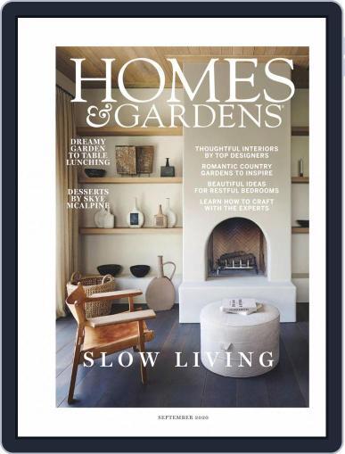 Homes & Gardens Magazine (Digital) September 1st, 2020 Issue Cover