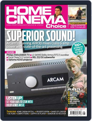 Home Cinema Choice Magazine (Digital) August 1st, 2020 Issue Cover