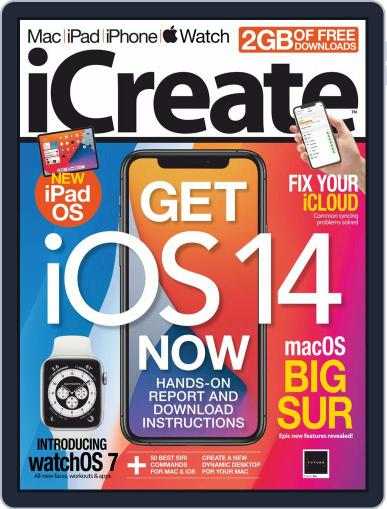 iCreate Magazine (Digital) August 15th, 2020 Issue Cover